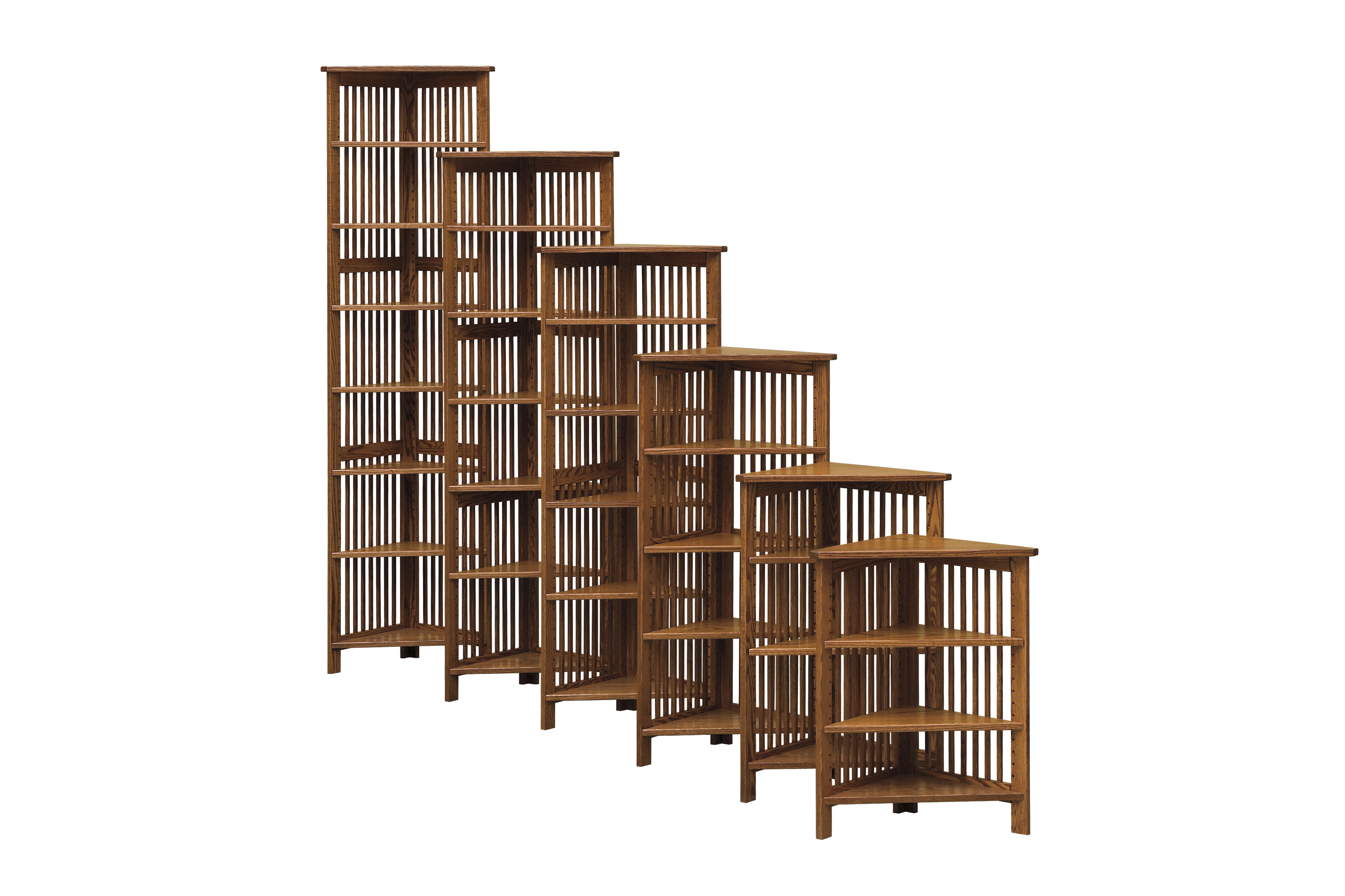 24 W Corner Bookcase Amish Furniture Connections Amish
