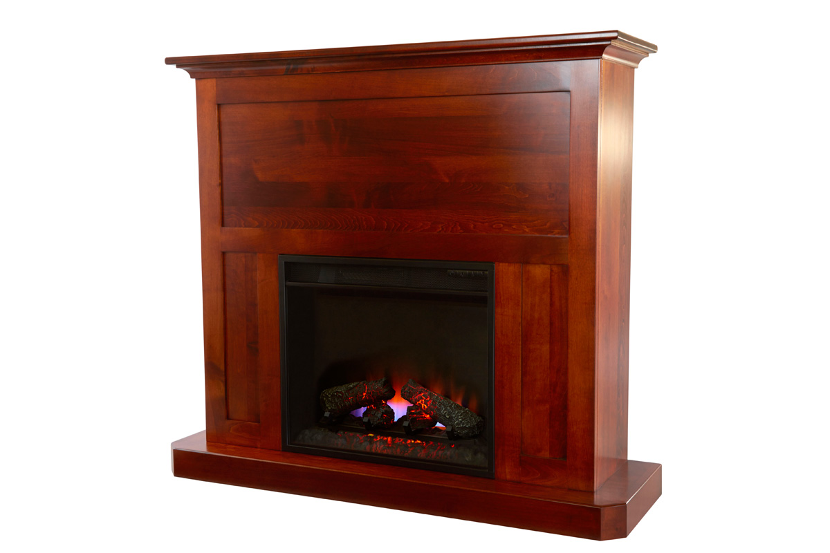 Fireplace Mantel With 23 Quot Insert Amish Furniture