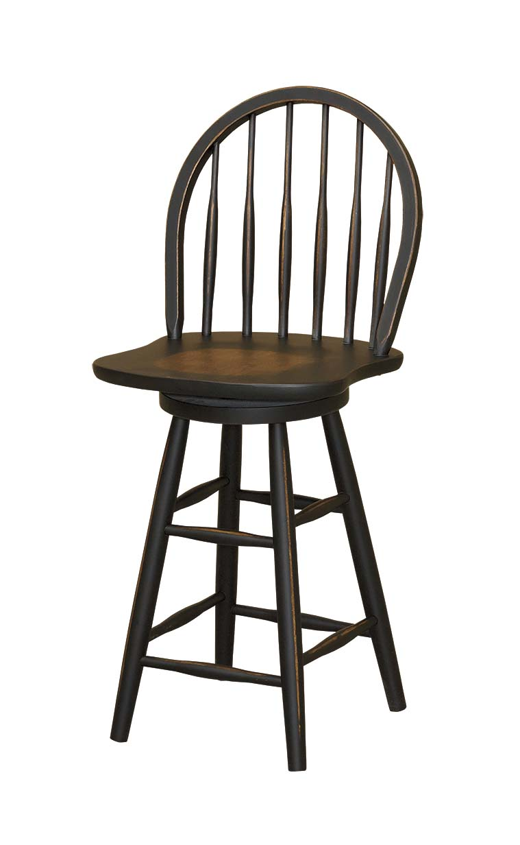 Windsor Bar Stool Amish Furniture Connections Amish