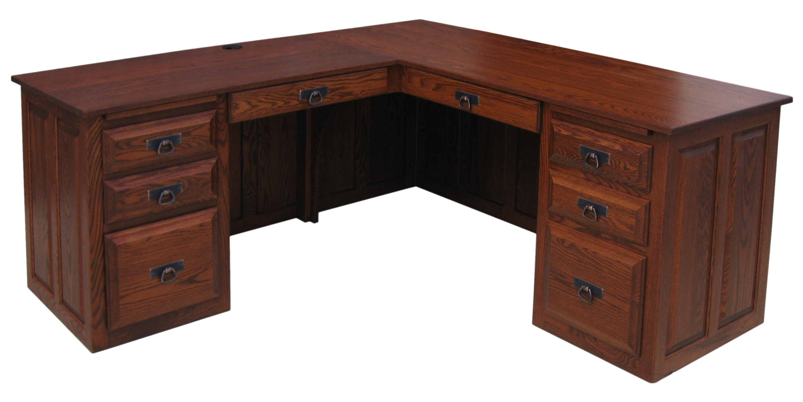 traditional executive corner desk amish furniture connections amish furniture connections