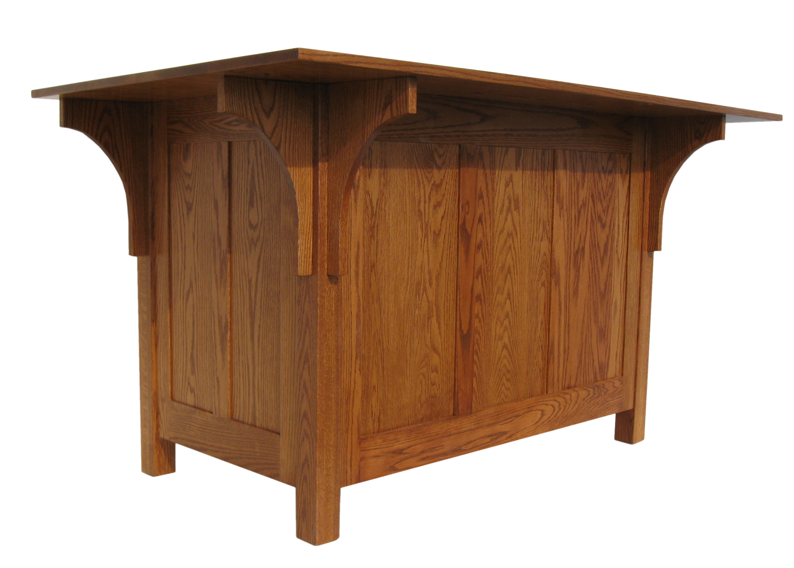Mission Large Kitchen Island Amish Furniture Connections