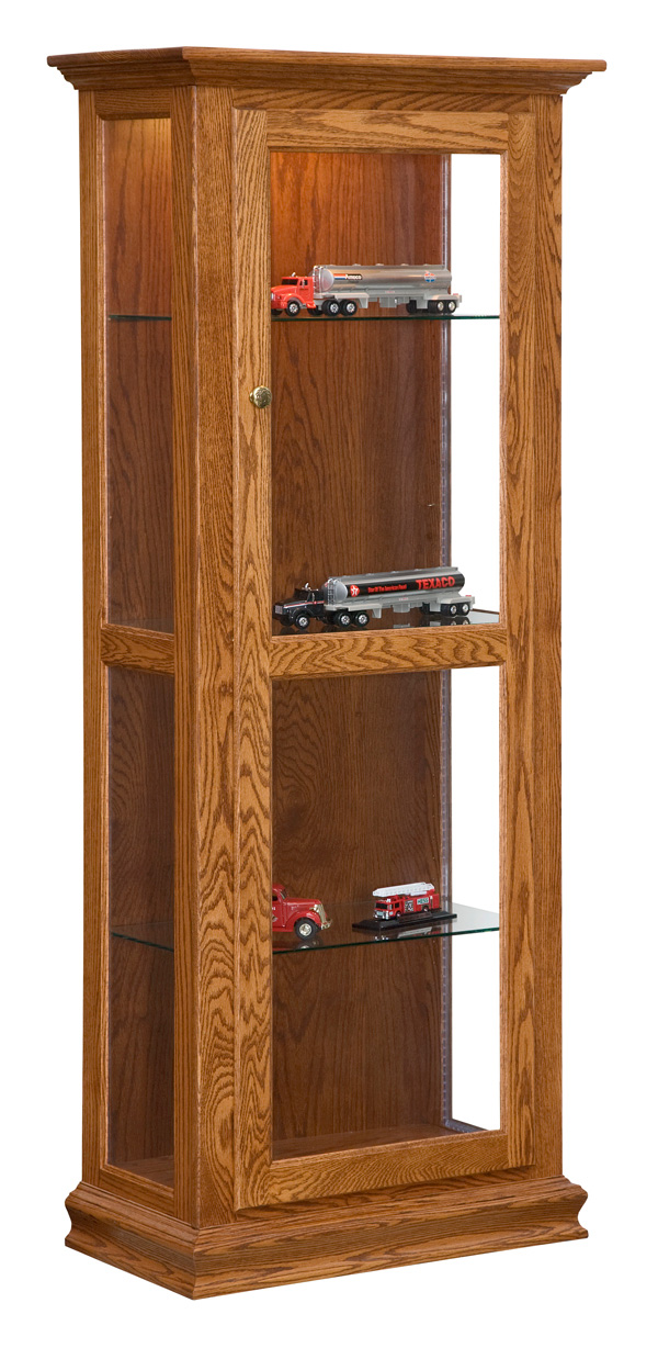 Curio Mirror Back Option Amish Furniture Connections
