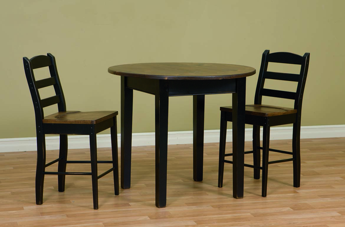 42 round table amish furniture connections amish for Dining room tables 42 round