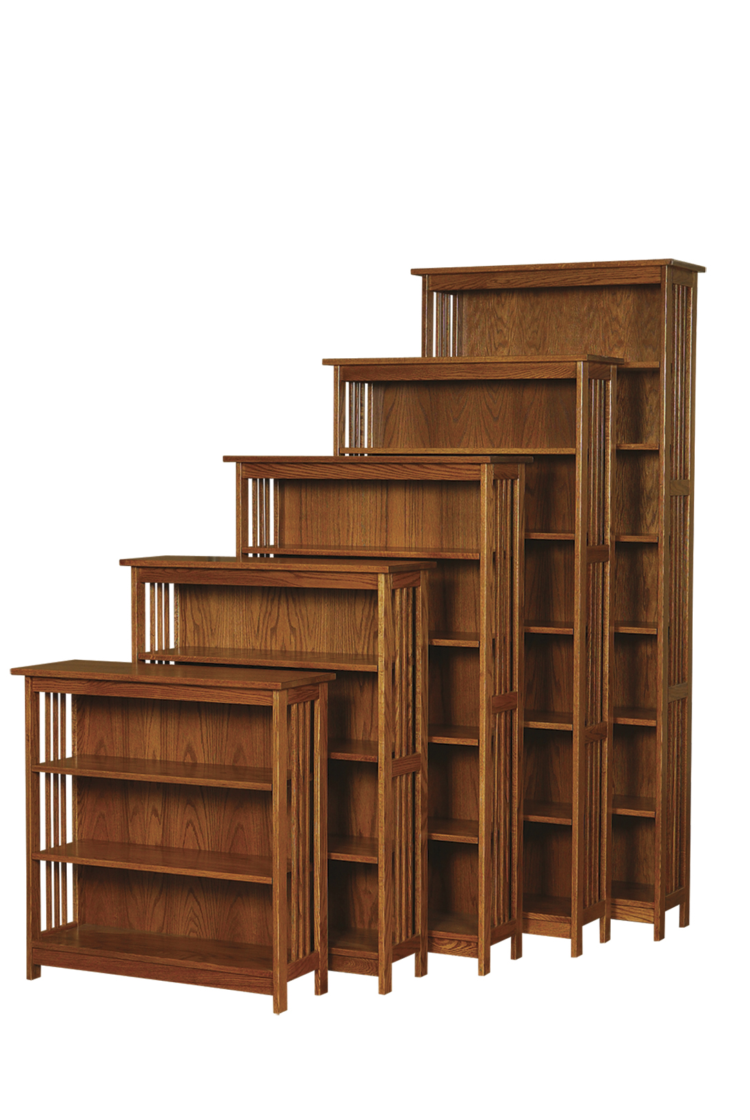 """24""""W Country Mission Bookcase - Amish Furniture ..."""