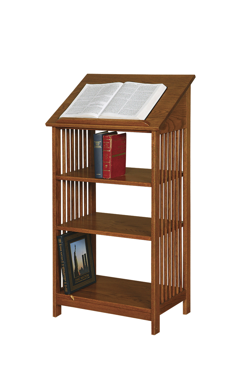 Dictionary Stand - Amish Furniture Connections - Amish ...