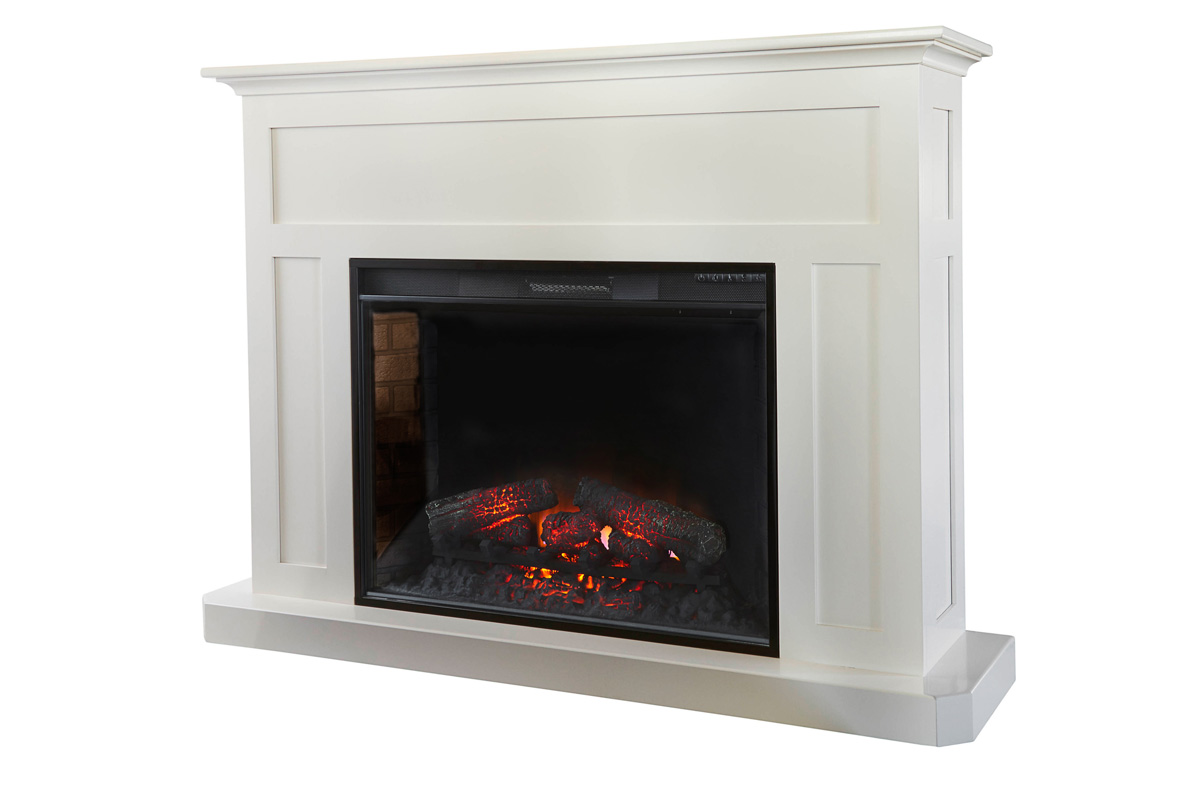Fireplace Mantel With 33 Quot Insert Amish Furniture
