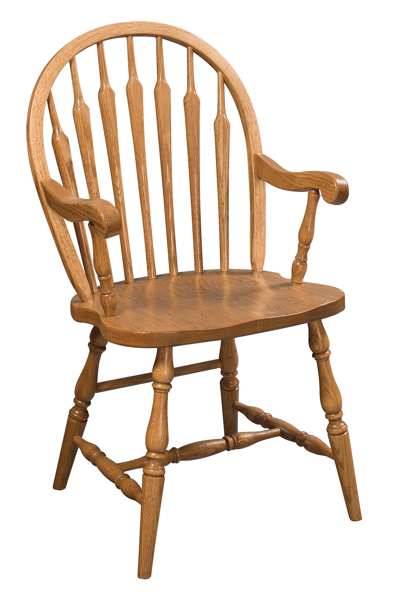 Arrow Back Windsor Arm Chair Amish Furniture Connections