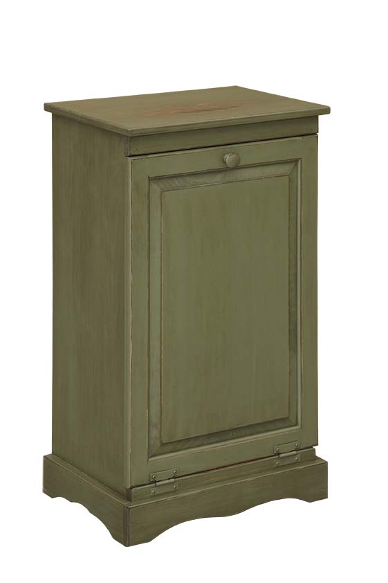 Trash Can Cabinet Amish Furniture Connections Amish