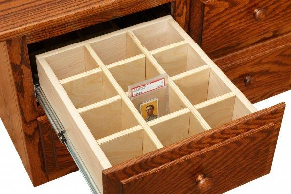 Graded Card Storage Cabinet Amish Furniture Connections Amish