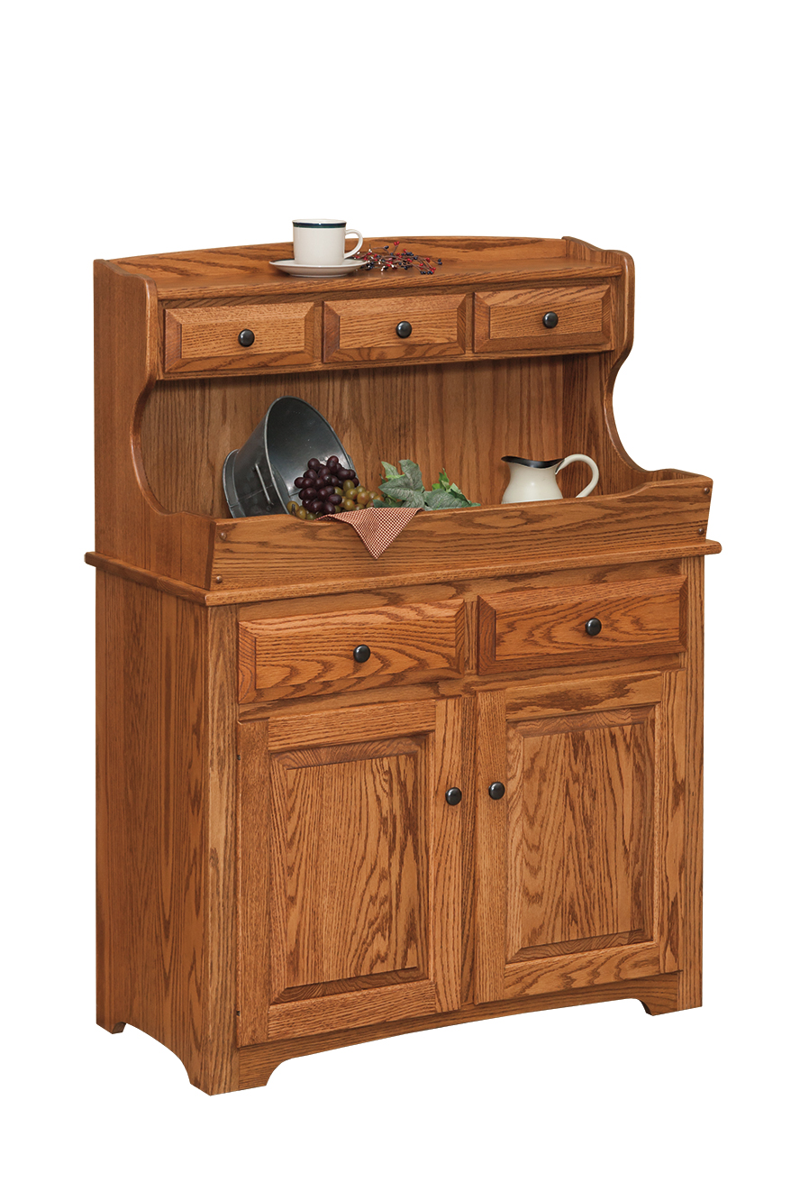 High Back Dry Sink Amish Furniture Connections Amish