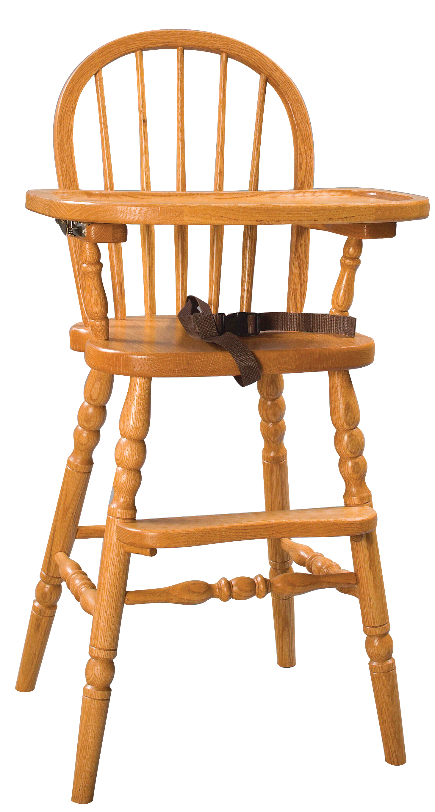Bow Back High Chair Amish Furniture Connections Amish Furniture