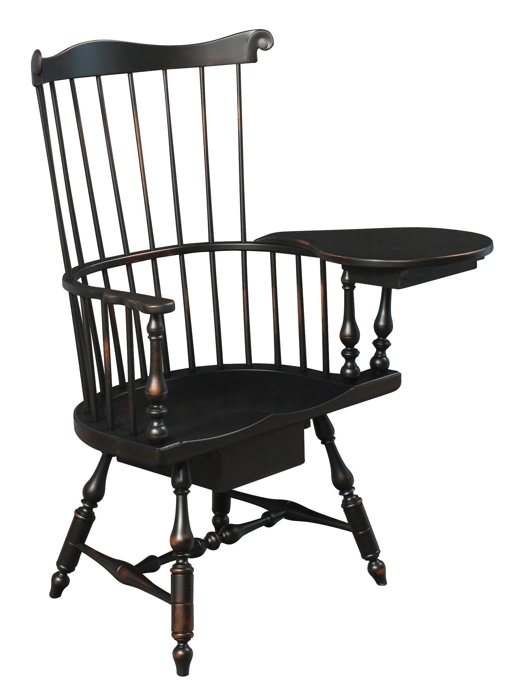 Eh philadelphia fanback windsor chair amish furniture