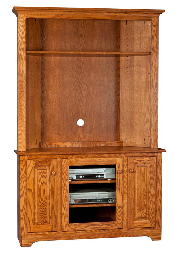 48 Quot Wide Corner Tv Stand Amish Furniture Connections