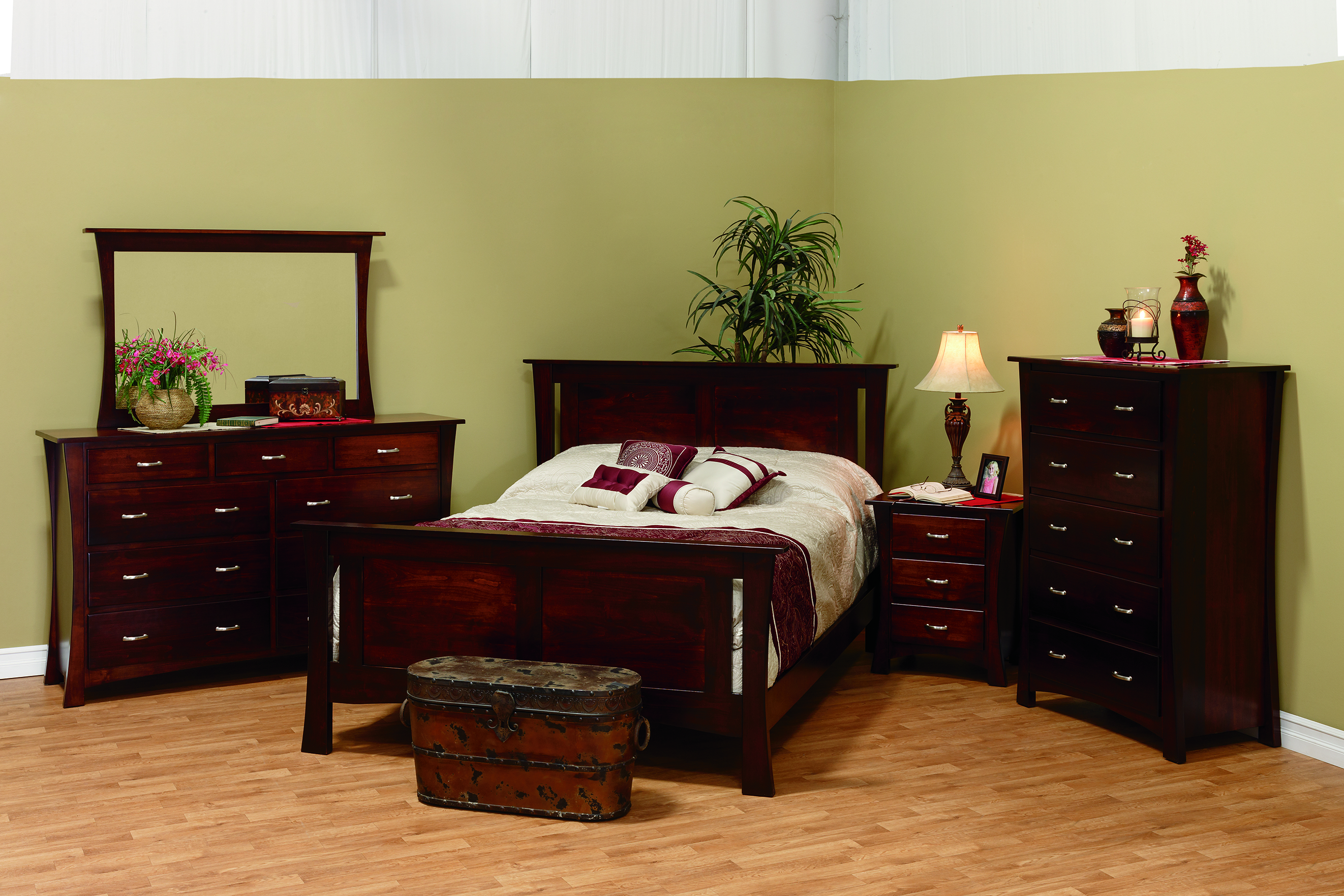 Oxford Bed - Amish Furniture Connections - Amish Furniture Connections