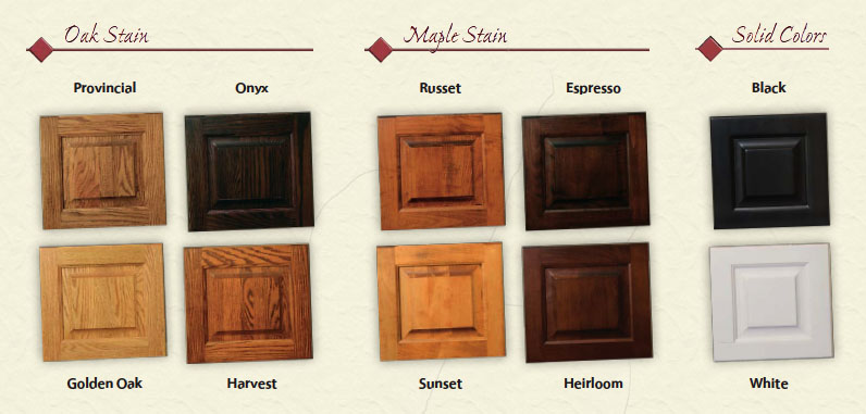 two tone wood stain